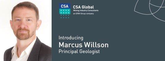 Introducing Marcus Willson