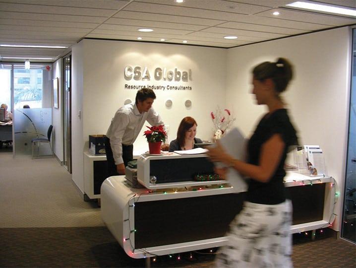 CSA Global Reception in Perth, WA