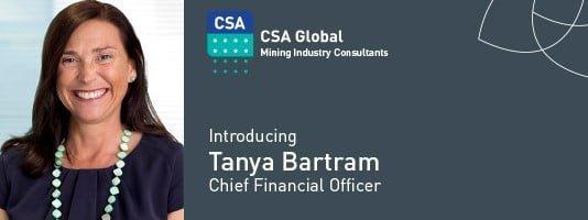 Tanya Bartram, CFO CSA Global