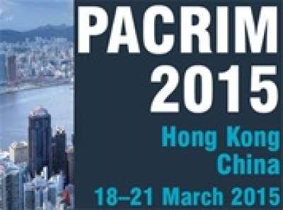 PACRIM 2015 - Hong Kong, China