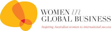 Women in global business logo