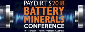 2018 Battery Minerals Conference