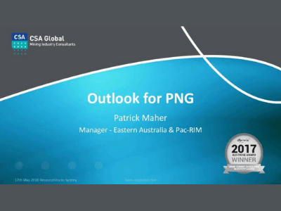 Outlook for Papua New Guinea