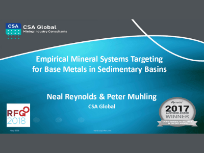 Empirical Mineral Systems Targeting for Base Metals in Sedimentary Basins​