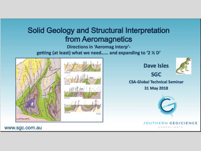 Solid Geology and Structural Interpretation from Aeromagnetics