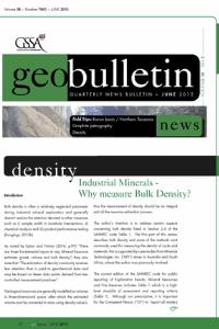 Iindustrial Minerals – Why Measure Bulk Density?