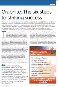 Graphite: The Six Steps To Striking Success