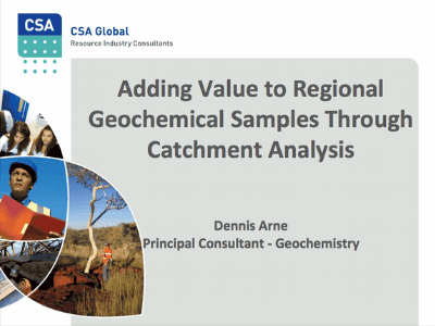Adding Value To Regional Geochemical Samples Through Catchment Analysis
