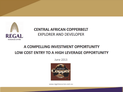 Central Africa Cooperbelt Explorer and Developer