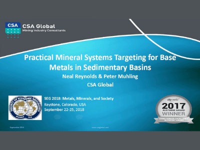 Practical Mineral Systems Targeting for Base Metals in Sedimentary Basins