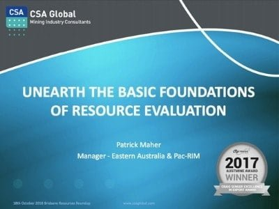 Unearth the basic foundations of resource evaluation