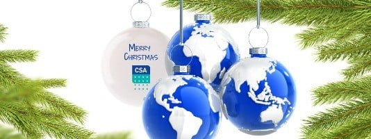 Merry Christmas from CSA Global