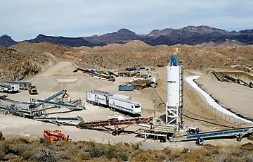 Moss Mine, Northern Vertex Mining.