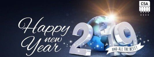 Happy New Year from CSA Global