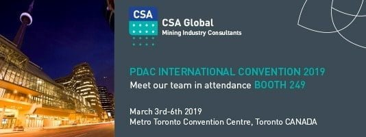 Meet us at the 2019 PDAC Conference in Toronto