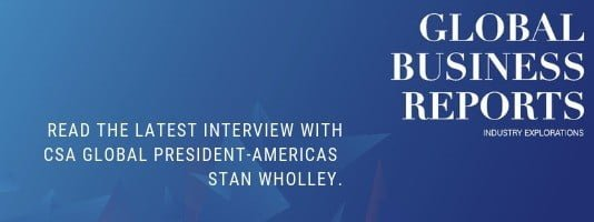 Global Business Reports-Stan Wholley Interview 2019