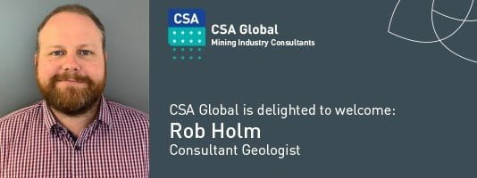 Welcome Rob Holm