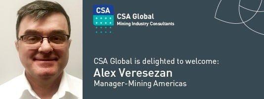 Welcome Alex Veresezan