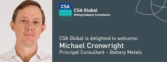 Welcome Michael Cronwright