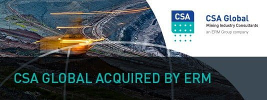 CSA Global has been acquired by ERM Group