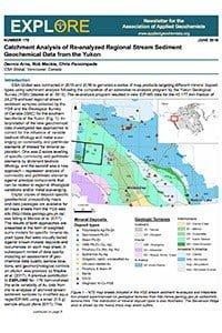 Catchment Analysis of Re-analyzed Regional Stream Sediment Geochemical Data from the Yukon