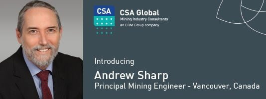 Andrew Sharp - Principal Mining Engineer