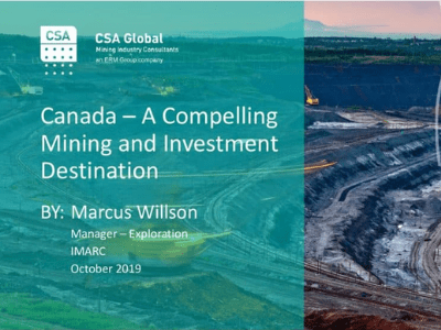Canada – A Compelling Mining & Investment Destination