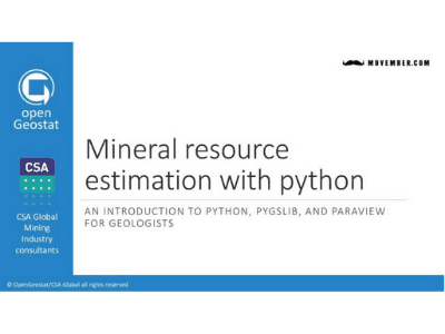 Introduction to Resource Estimation with Python