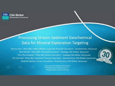 Integration of Exploration Geochemical & Mineralogical Data