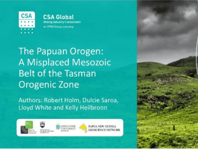 The Papuan Orogen: A Misplaced Mesozoic Belt of the Tasman Orogenic Zone