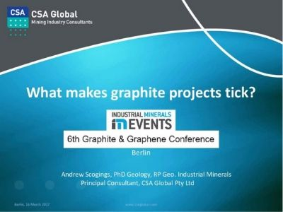 What Makes a Graphite Project Tick?