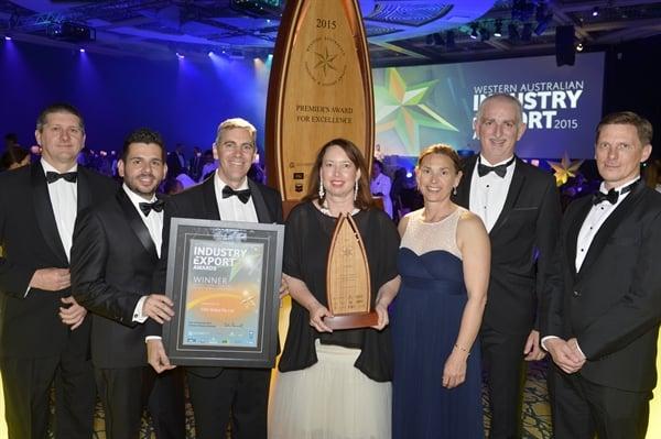2015 WESTERN AUSTRALIAN EXPORT AWARD