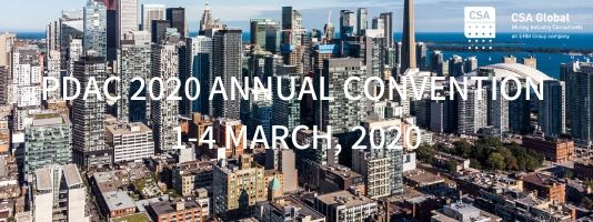 PDAC ANNUAL CONVENTION 2020