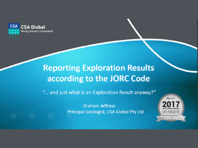 Generating & Reporting Exploration Results