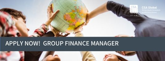 Group Finance Manager - Applications Open