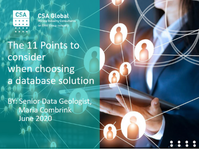 The 11 Points to Consider When Choosing a Database Solution