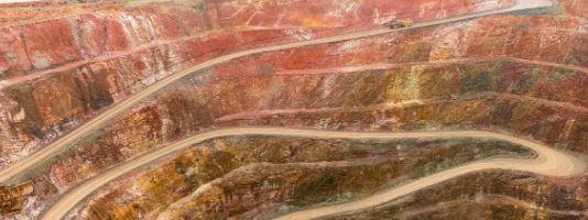 Gold mine in Cobar