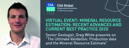 Virtual Event on Mineral Resource Estimation