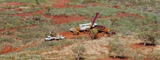 Drilling and exploration in the Pilbara