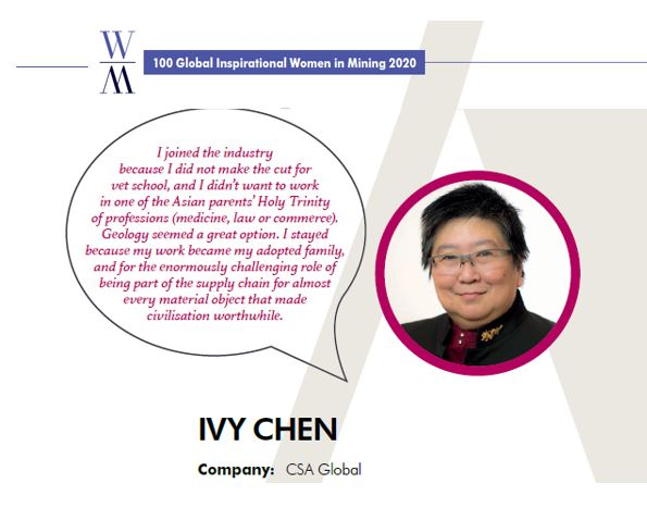 Quote from Ivy Chen