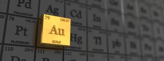 Gold in the Periodic Table