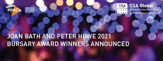 Bursary Award Winners Announced 2021