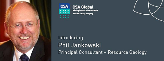 Phil Jankowski, Principal Consultant - Resource Geology