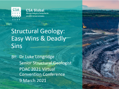 Structural Geology: Easy Wins & Deadly Sins