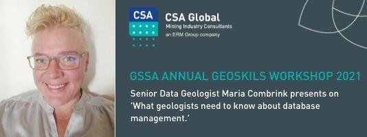GSSA Annual Geoskills Workshop 2021