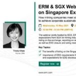 ERM & SGX Webinar: Listing on Singapore Stock Exchange