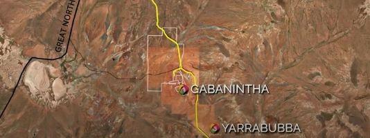 Yarrabubba High Grade Iron Ore Project Map