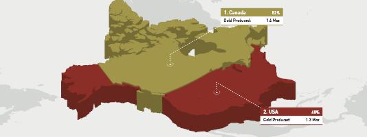 North American Gold Mines Q1 2021
