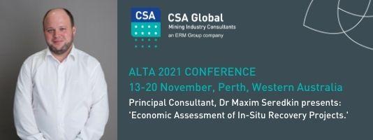 ALTA 2021 Conference - Maxim Seredkin