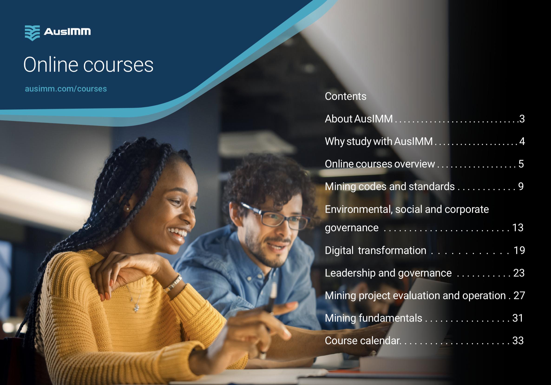 AusIMM Online Courses